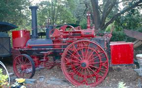 Steam tractor sm