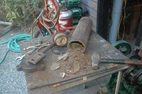 Surge tank rust