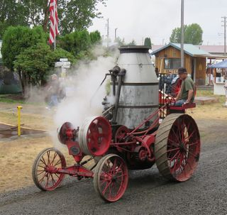 Steam buggy Brooks 2015