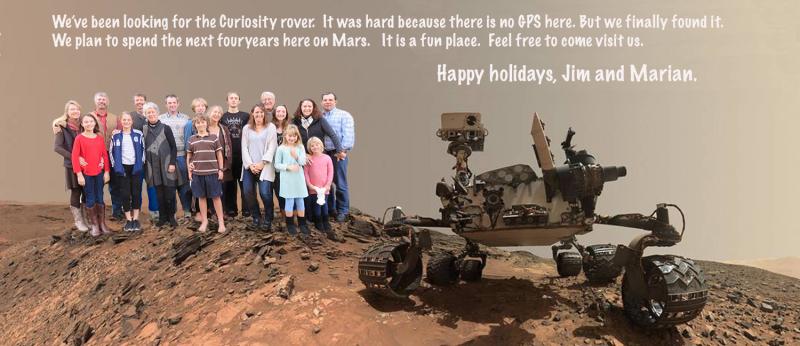 Mars flat card 2